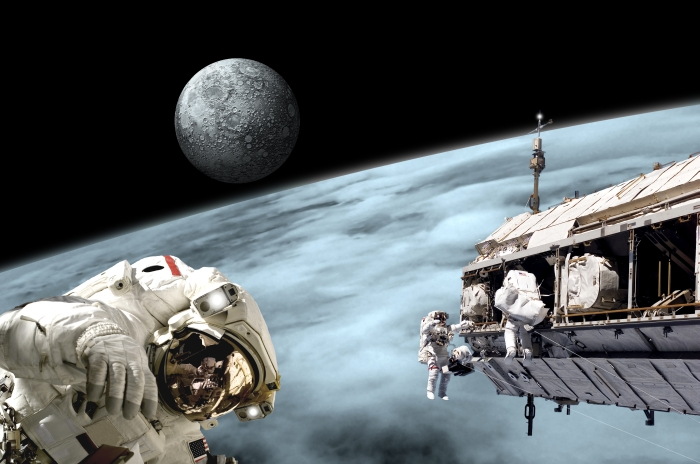 Space walk example of UNIVERSAL TIME LINK