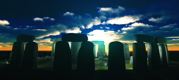 The early worlds top technology - Stone Henge. the forerunner of Erthbeet Time