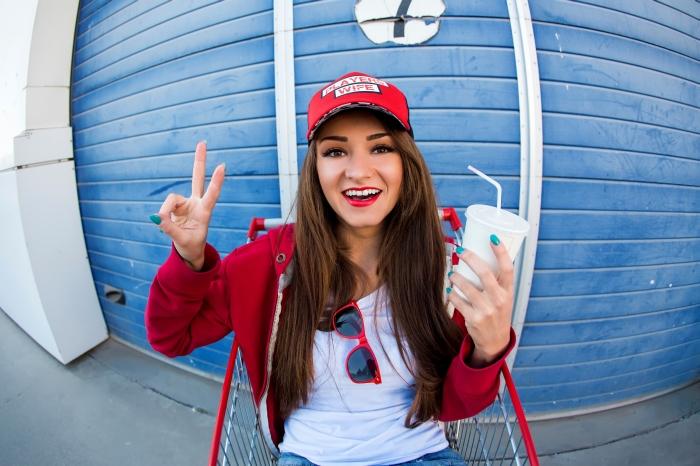 A vibrant happy young woman enjoying Daylight Savings Time - UTTP
