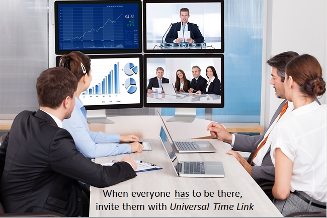 Online meetings are often cursed by time ambiguity