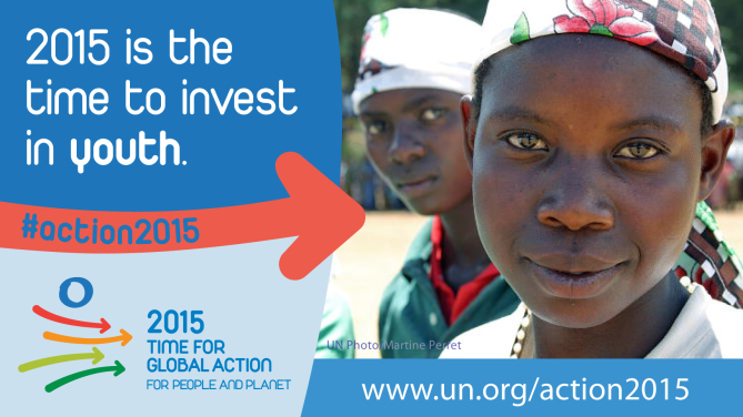 United Nations - Global Action for bright future for youth2