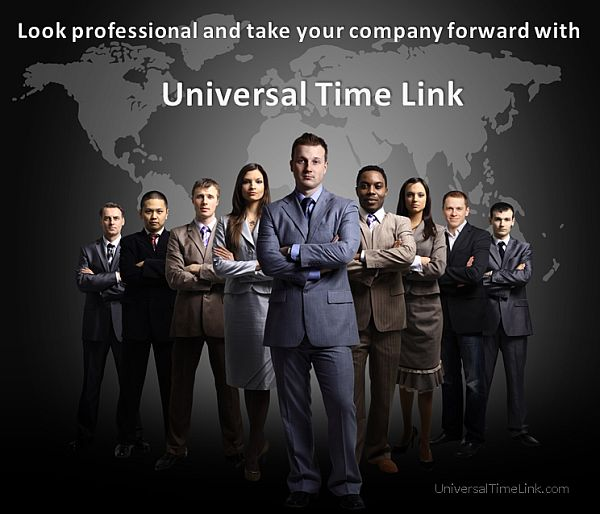 Look Professional by using Universal Time Link