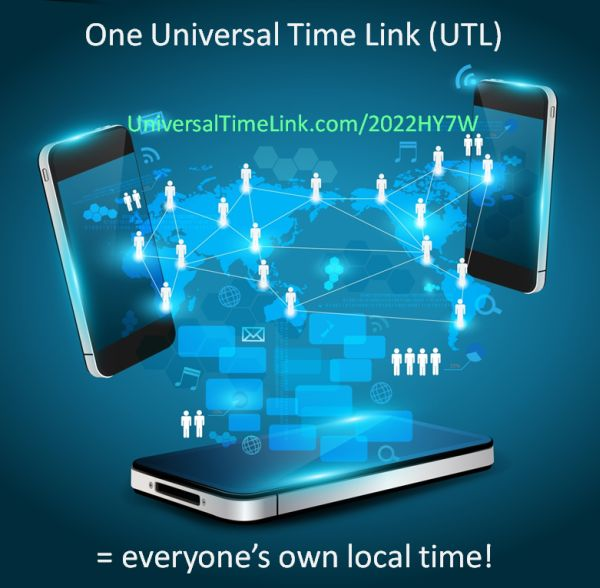 One Universal Time Link equals many local times - UTTP